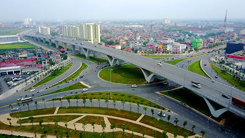 Nút giao Long Biên - 1 trong các dự án theo hình thức đối tác công tư của Hà Nội. Ảnh: Nhật Quang.