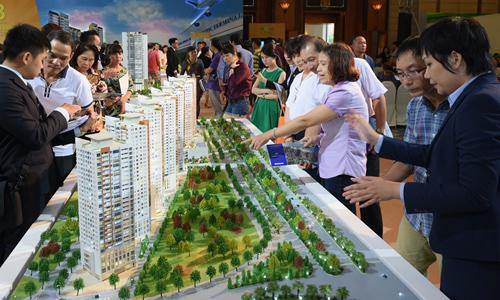 Lễ mở phân phối dự án căn hộ cao tầng của Novaland. Ảnh: V.L