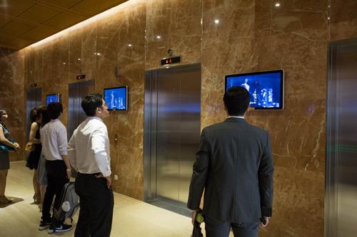 Kênh truyền thông thang máy là chọn lọc của nhiều công ty.