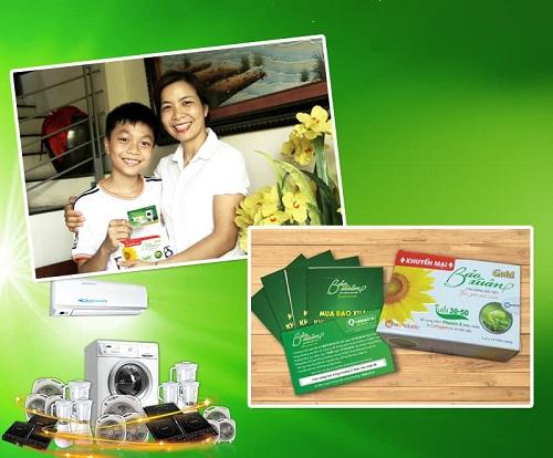 Sản phẩm Bảo Xuân được sản xuất bằng 1 số dược liệu sạch từ đậu nành, chắc chắn nguyên tắc GACP-WHO
