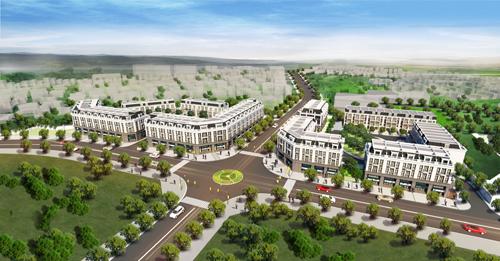 Nhà phố Eastern Park - điểm nhấn của Ha Noi Garden City