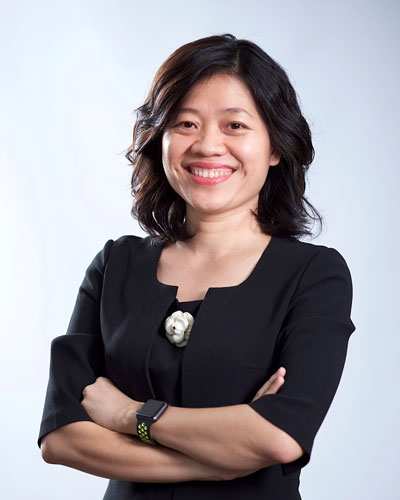 Bà Nguyễn Thị Tường Vân - Phó tổng giám đốc nhân sự Mondelez Kinh Đô Việt Nam.