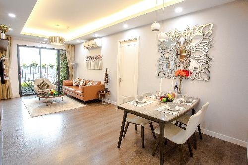 Không gian sang trọng ở căn hộ chung cư mẫu công trình nghìn tỷ khu Nam Hà Nội - 2