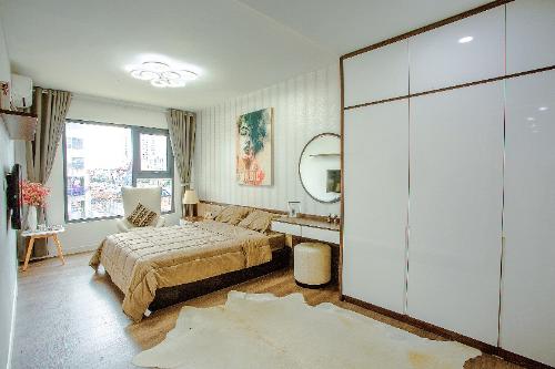 Không gian sang trọng ở căn hộ chung cư mẫu công trình nghìn tỷ khu Nam Hà Nội - 5