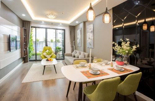 Không gian sang trọng ở căn hộ chung cư mẫu công trình nghìn tỷ khu Nam Hà Nội - 3