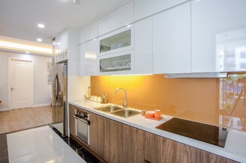 Không gian sang trọng ở căn hộ chung cư mẫu công trình nghìn tỷ khu Nam Hà Nội - 6