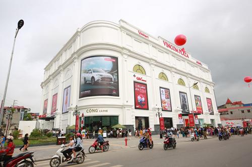 Vincom Plaza Thái Nguyên vượt bậc giữa trọng điểm đô thị.