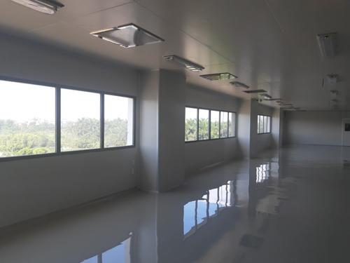 Hệ thống phòng sạch ở trọng điểm y tế mà Quí Long đã lắp đặt chắc chắn nguyên tắc WHO-GMO.