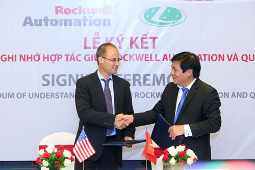 Quí Long, Rockwell phát triển hệ thống lọc không khí cho nhà máy dược