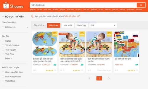 Sàn thương mại điện tử bán đồ chơi có hình 'đường lưỡi bò' của Trung Quốc