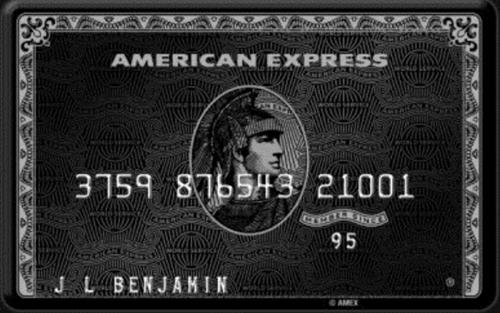 Những chiếc thẻ tín dụng triệu phú