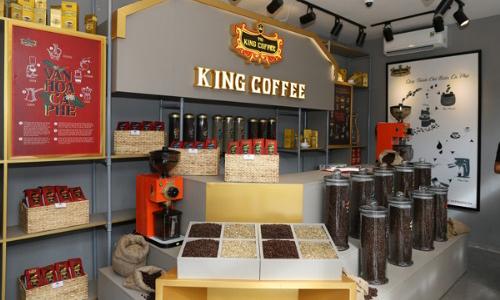 Khu vực phân phối lẻ dành cho khách mua có về ở cửa hàng.