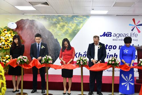 MB Ageas Life khai trương văn phòng đại lý tại Hà Nội
