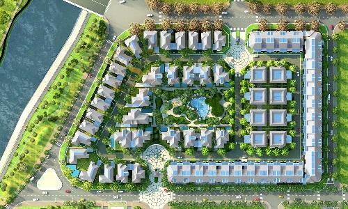 Sol Villas phát triển thành khu biệt thự biệt lập