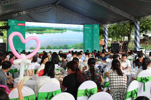 Gần 300 quý khách tham dự chương trình Mở phân phối chính thức liền kề Dahlia Homes - Gamuda Gardens.