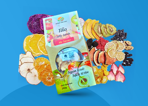Detox hoa quả sấy lạnh có giá từ 12.000 đồng. Sản phẩm được kiểm định, trải qua quy trình sản xuất chặt chẽ trước khi đưa đến tận tay người tiêu dùng.