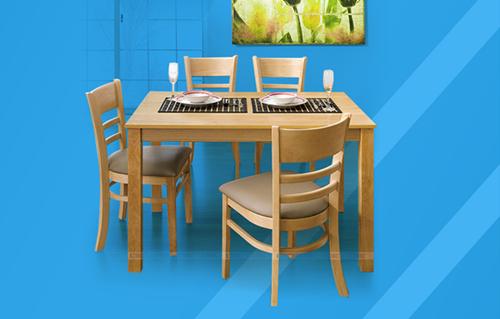 Bộ bàn ăn tân tiến cho nhà bếp IBIE chỉ từ 2,99 triệu đồng. Sản phẩm có lý do từ Hàn Quốc, vật liệu gỗ cao su môi trường xung quanh bền chắc, gia công tỉ mỉ và kết cấu đảm bảo. Có nhiều màu sắc, kích thước cho KH chọn lọc.