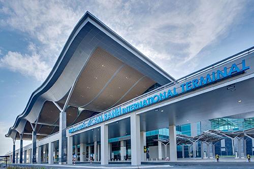 Nhà ga quốc tế sân bay Cam Ranh đạt nguyên tắc 4 sao quốc tế vừa khánh thành vào tháng 6/2018. Ảnh: Văn Long.