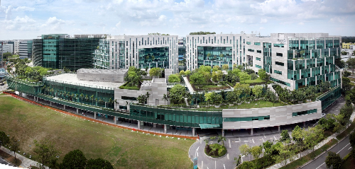 Dự án Changi Business Park ở Singapore.
