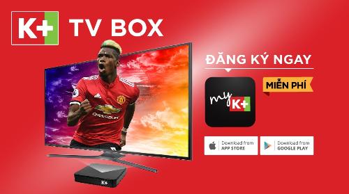Kết nối K+ TV Box để xem ngay một vài nội dung độc quyền trên K+ không cần lắp đặt