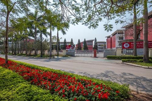 Trường Song ngữ Quốc tế Ha Noi Academy nằm nội khu khuôn viên Ciputra.