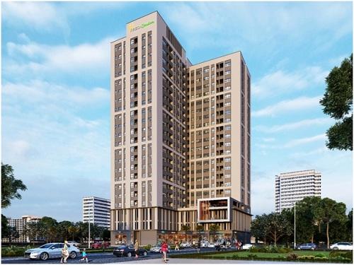 Areca Garden tọa lạc ở địa điểm đắc địa của công trình dự án khu thành phố Bách Việt Lake Garden.