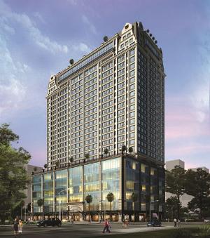 Cao ốc văn phòng 5 sao của C.T Group tại trung tâm Sài Gòn