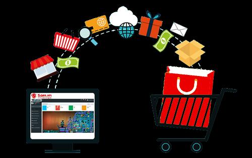 Mua hàng trực tuyến càng ngày càng phổ biến có người dùng Việt.