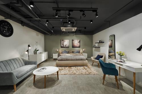 AConcept còn xuất hiện chủ đạo trong 1 vài căn hộ chung cư mẫu của An Cường.
