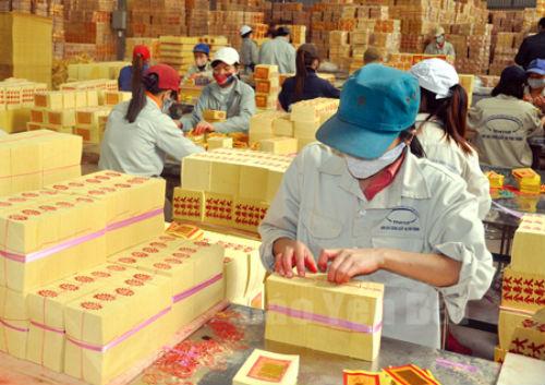 Hoạt động ở Công ty Lâm nông sản thực phẩm Yên Bái. Ảnh: Báo Yên Bái