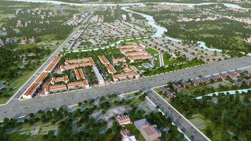 Dự án Long Hậu Riverside ra mắt thị trường