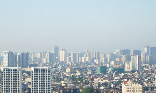 Nhiều nhà đầu tư đổ tiền vào căn hộ chung cư chung cư ở Hà Nội đang gặp khó trong việc phân phối cắt lỗ. Ảnh: Anh Tú