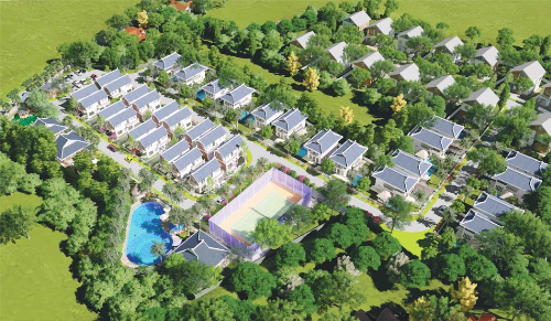 Những điểm nhấn của khu biệt thự nghỉ dưỡng Green Oasis Villas