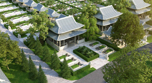 Ra mắt mô hình hoa viên nghĩa trang sinh thái Sala Garden