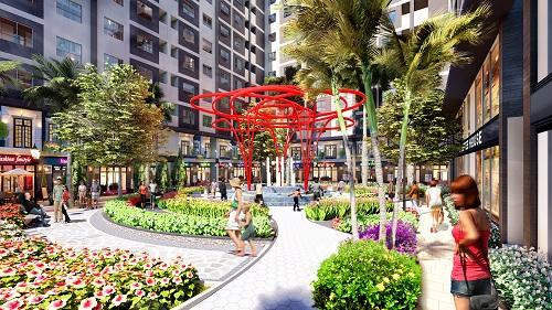 Căn hộ thương mại Duplex nhà phố đa tính năng, được cấp sổ hồng lâu dài.