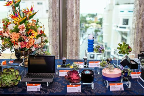 Một số sản phẩm chuẩn bị sẽ trưng bày ở triển lãm của In style. Hong Kong.