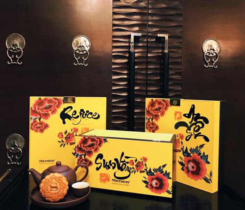 ững chiếc phân phốih này đều do chính những đầu bếp của khách sạn Sheraton Sài Gòn tự tay làm có những nguyên liệu chọn lựa kỹ lưỡng