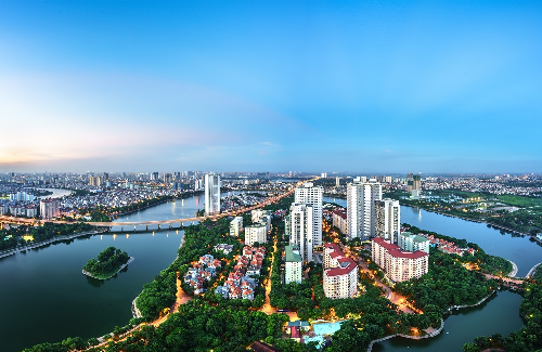 Hạ tầng khu Nam Hà Nội thu hút dự án chung cư tầm trung