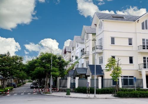Biệt thự An Khang ba mặt các con phố có lợi thế phong cảnh xanh mát. Website.