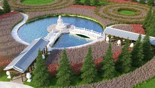 Không gian sinh thái tại hoa viên nghĩa trang cao cấp Sala Garden