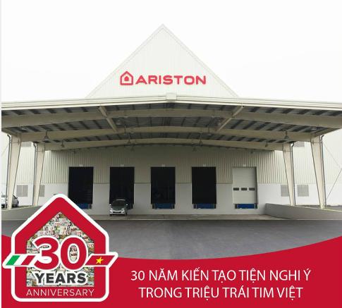 Ariston chinh là 1 trong một số thương hiệu bình nước nóng Thứ nhất có mặt ở phân khúc Việt Nam.