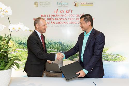 SmartRealtors chính thức là đại lý bán độc quyền villa biển Banyan Tree Residences, thuộc công trình nghỉ dưỡng Laguna Lăng Cô.