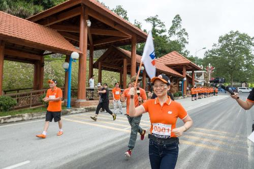 3.000 người FPT chạy bộ để lập kỷ lục Việt Nam