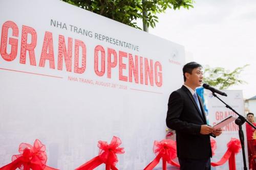 Ông Trần Cát Văn - Trưởng Văn phòng đại diện Schindler Nha Trang.