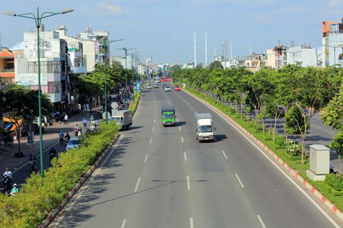 Nhiều dự án bất động sản đổ bộ đại lộ đẹp nhất TP HCM