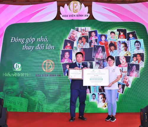 Hoa Viên Bình An hỗ trợ phẫu thuật tim cho trẻ em nghèo