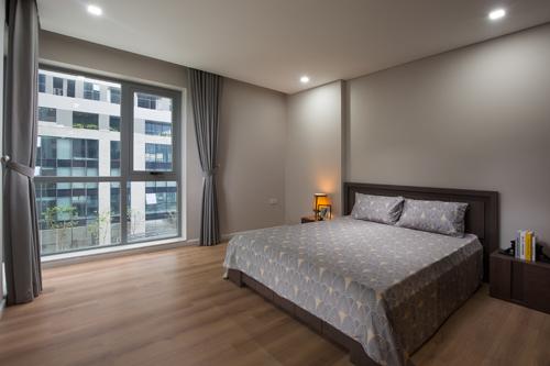 Ánh sáng và gió trời cũng có thể tràn vào phòng ngủ nhờ kiến trúc thông minh.
