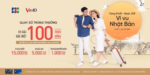 Cùng vi vu Nhật Bản khi mua sắm ở VinMart và VinMart+, chi trả bằng Thẻ quốc tế JCB.