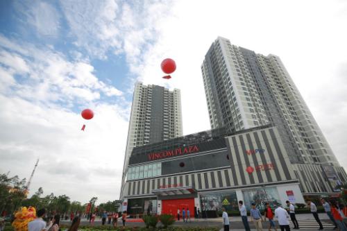 Trung tâm thương mại Vincom được khánh thành ở Bắc Ninh. Ảnh: Vincom
