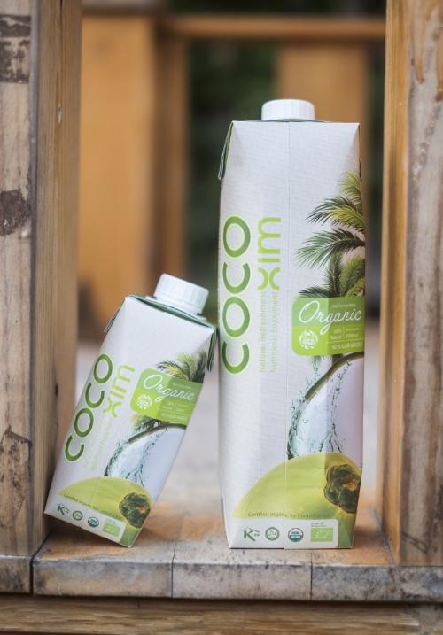 Sản phẩm nước dừa Cocoxim Organic nguyên chất của Betrimex đã có mặt ở các hệ thống trung tâm mua sắm, cửa hàng tiện lợi lớn trên cả nước có giá bán lẻ 27.000 đồng mỗi hộp 330ml.